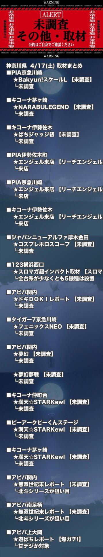 神奈川県_2021-04-17_未調査_パチンコ・パチスロ
