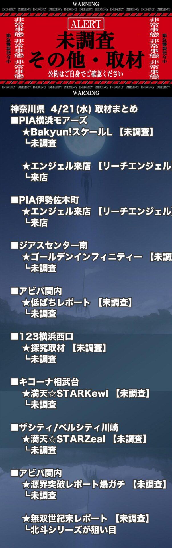 神奈川県_2021-04-21_未調査_パチンコ・パチスロ