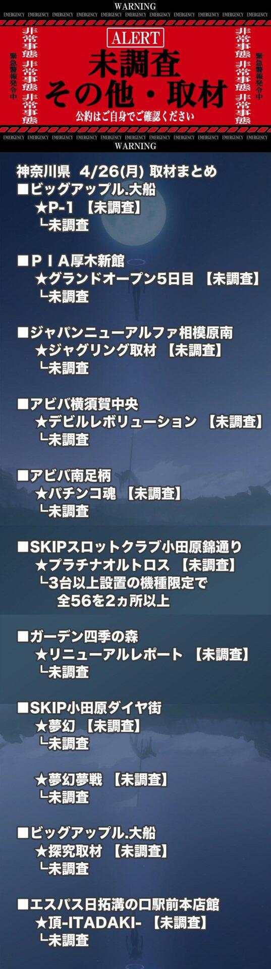 神奈川県_2021-04-26_未調査_パチンコ・パチスロ