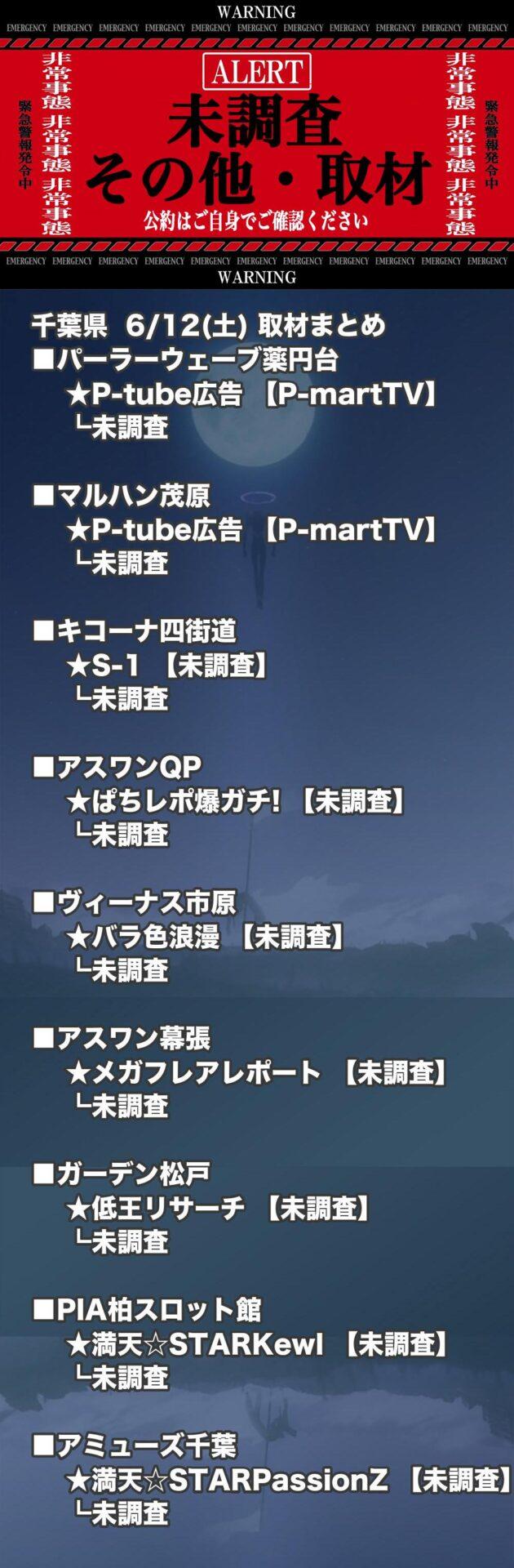 千葉県_2021-06-12_未調査_パチンコ・パチスロ