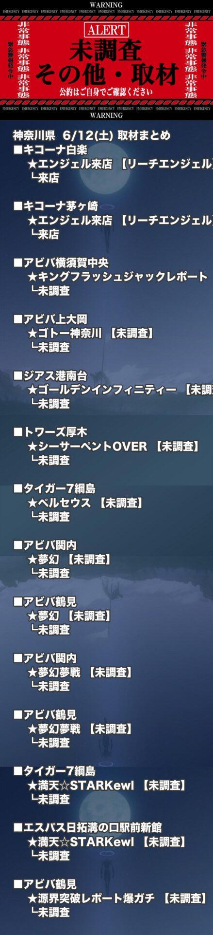 神奈川県_2021-06-12_未調査_パチンコ・パチスロ