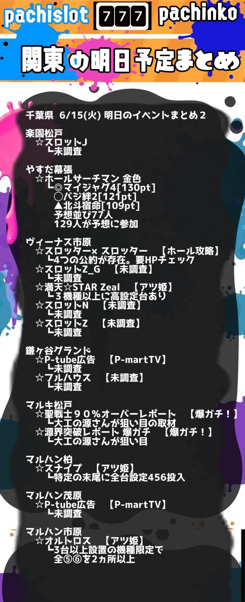 千葉県_2021-06-15_パチンコ・パチスロ_イベント