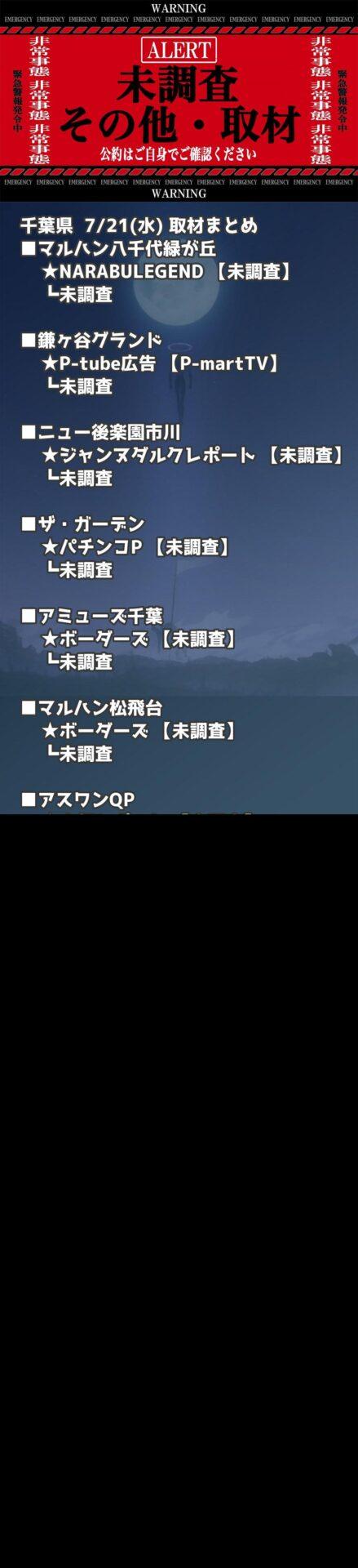千葉県_2021-07-21_未調査_パチンコ・パチスロ