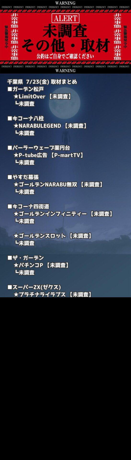 千葉県_2021-07-23_未調査_パチンコ・パチスロ