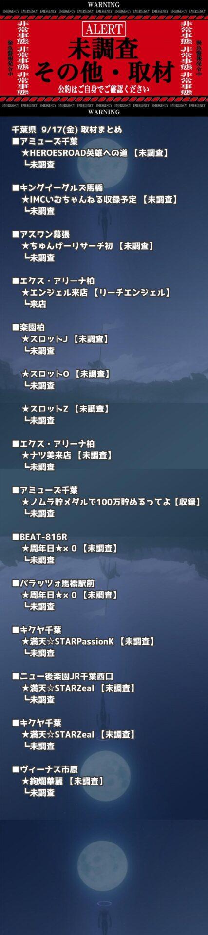 千葉県_2021-09-17_未調査_パチンコ・パチスロ