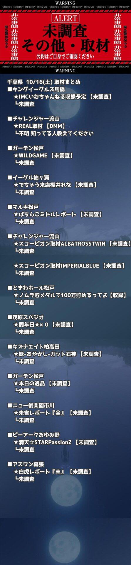 千葉県_2021-10-16_未調査_パチンコ・パチスロ