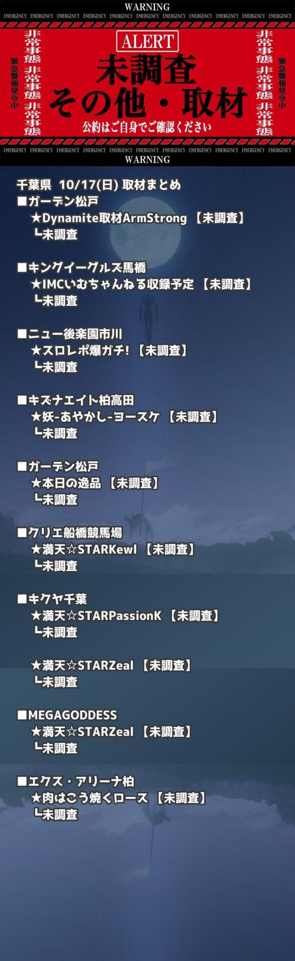 千葉県_2021-10-17_未調査_パチンコ・パチスロ