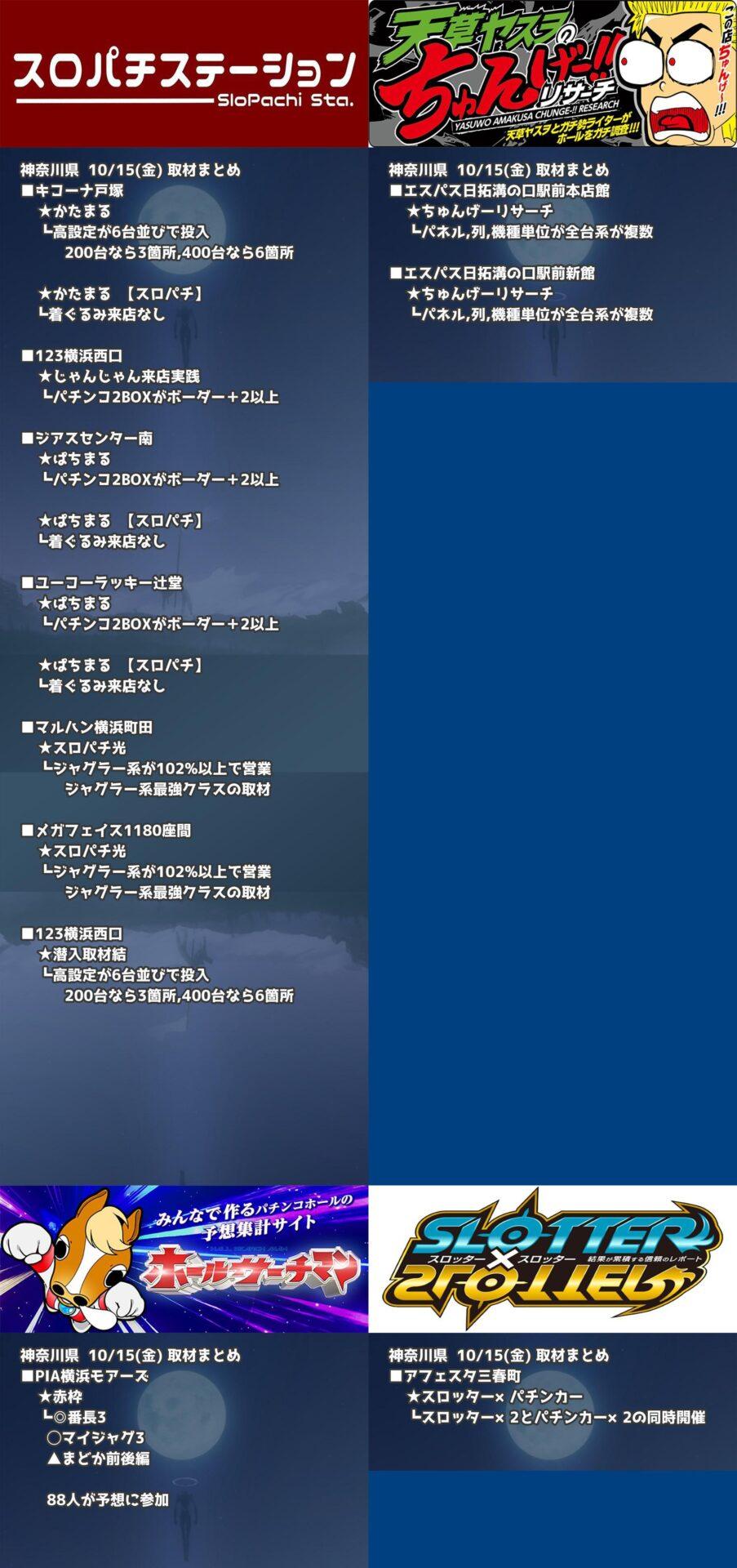 神奈川県_2021-10-15_パチンコ・パチスロ_イベント
