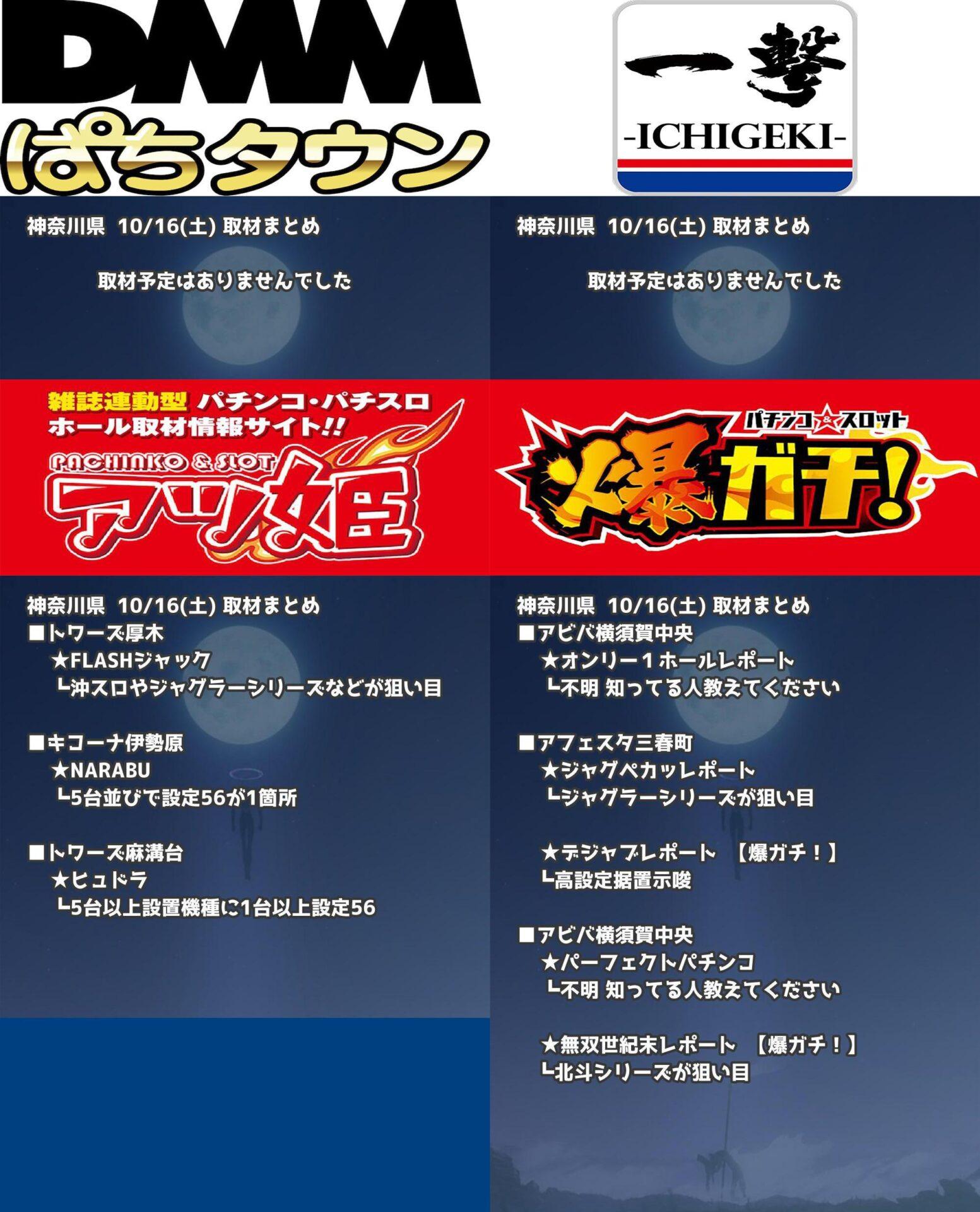神奈川県_2021-10-16_パチンコ・パチスロ_イベント